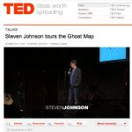 9 TED talk by Steven Johnson