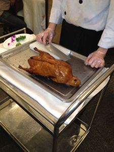 Peking duck in Beijing